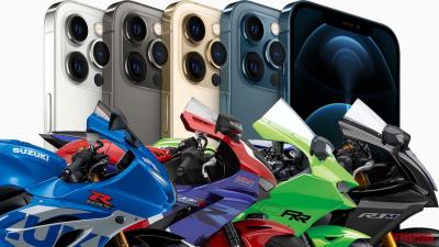 iPhoneのカメラがハイパワーバイクの振動で画質低下の恐れ