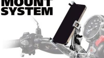 【新製品】サインハウス、バイク用「A-46 スマートフォンホルダー」を発売 最新機種にも幅広く対応