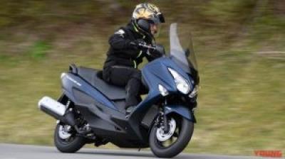 スズキ バーグマン200 ABS 試乗インプレッション【ついにABSを獲得! 絶妙なサイズ感が光る】