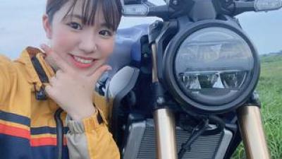 ほぼ月刊「梅本まどかとオートバイ」vol.31 Honda CB250R