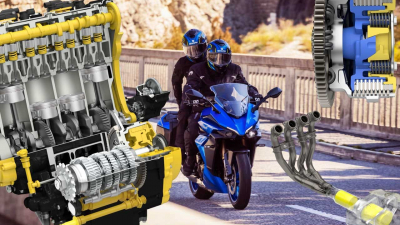 """伝説の""""K5""""ベース!! スズキ「GSX-S1000GT」のエンジンはゼロヨン加速 10.15秒"""