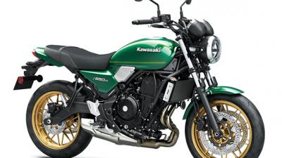 カワサキ、新型「Z650RS」を発表