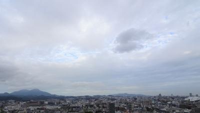 曇り・・・