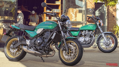 Z650RS・・・・