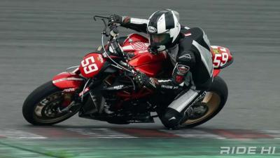 MVアグスタ・ブルターレ800レーサーに試乗! Vol.3「ブルターレ800でどこまでいけるか?」