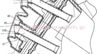 ジクサー250系向けっぽいサイレンサーの特許
