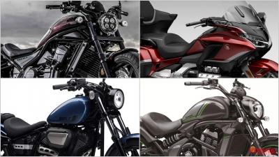 2021新型バイク総まとめ:日本車大型クルーザークラス【傑作レブル1100が新たなライバルを生み出すか?!】