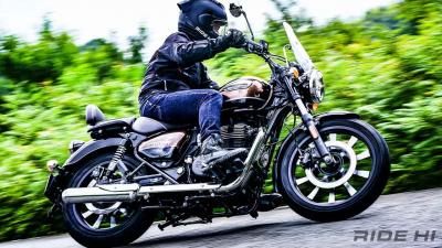 【ロイヤルエンフィールド メテオ350 試乗インプレ】走る、旅する、バイクの醍醐味を感じる1台