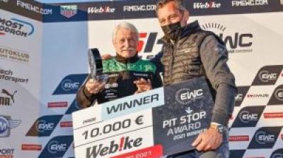 TATI TEAM BERINGER RACINGが2021年ウェビック・トロフィーを受賞