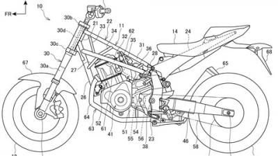 2022年モデルのNT1100のティーザー公開。発表日は10月21日