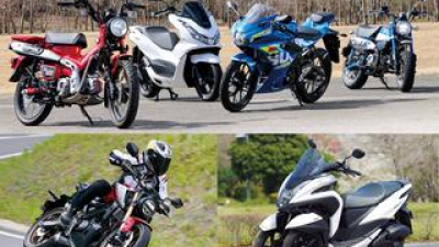 原付二種125ccバイクの人気ランキングTOP10|読者が選んだ2021年のベストモデルを発表!【JAPAN BIKE OF THE YEAR 2021】