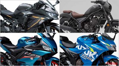 """2021新型バイク総まとめ:日本車126〜250cc軽二輪クラス【ZX-25Rが牽引する""""身近な本格派""""市場】"""