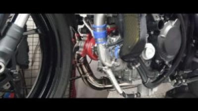 TRICK STARがNinja ZX-25R用のターボチャージャー開発してるよ