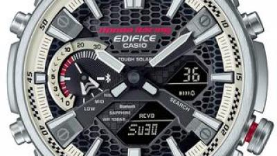 エディフィス×ホンダレーシングの最新コラボ腕時計|ホンダのF1参戦最終年に原点のRA271をモチーフとした限定モデルが登場