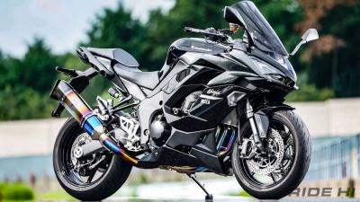 【カスノモーターサイクル×ニンジャ1000SX】ロングツーリングをもっと快適に!
