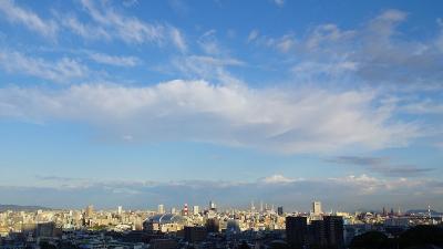 気持ちの良い天気!