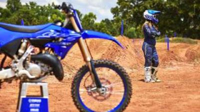 2022年YZシリーズが体験できる、Yamaha bLU Camp