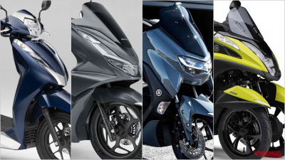 2021新型バイク総まとめ:日本車51〜125cc原付二種スクータークラス