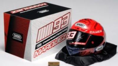 【新製品】SHOEI、93個限定・直筆サイン入り「X-Fourteen マルケス6 スペシャルパッケージ」を発売
