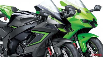 カワサキ「ニンジャZX-10R/RR」新色スチールグレーがイカス! 欧州で2022年型発表