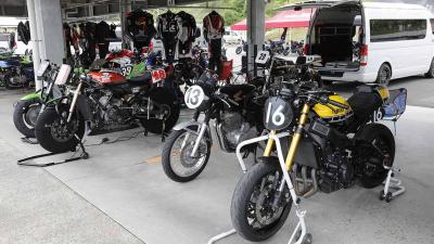 絶版バイクが集う、パドックも楽しいサーキットイベント〈アストライド2021〉