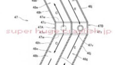 ホンダの変な形のラジエーターの特許。CBR1000RR-R向け?