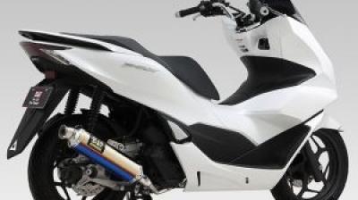 【新製品】ヨシムラ、PCX/PCX160 2021モデル用「機械曲R-77S/GP-MAGNUM105サイクロン」を受注開始