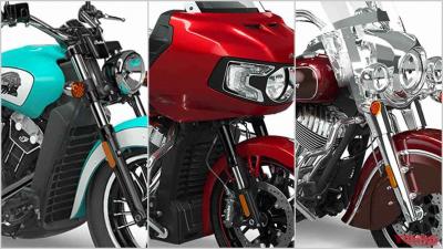 インディアン新型バイク総まとめ【看板モデルが'21でフルチェンジ】